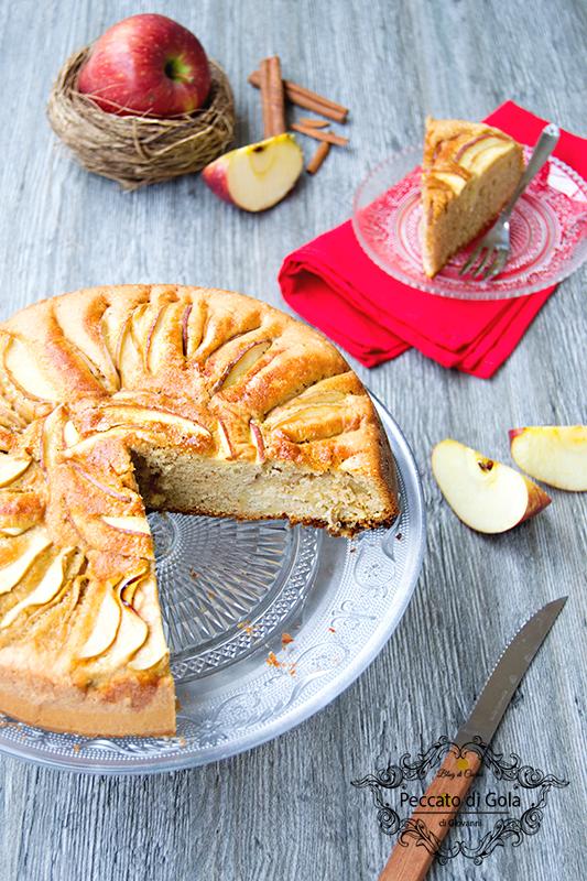 ricetta torta di mele senza burro, peccato di gola di giovanni 2