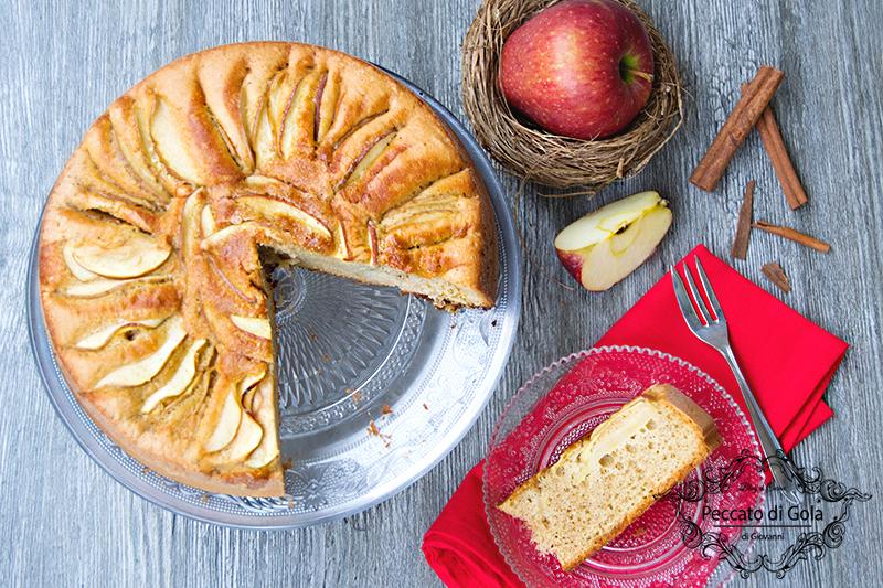 ricetta torta di mele senza burro, peccato di gola di giovanni