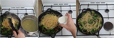 spaghetti con polpette e broccoli, peccato di gola di giovanni 5