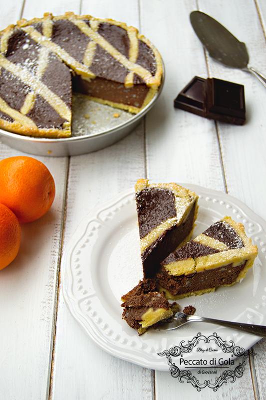 ricetta pastiera al cioccolato, peccato di gola di giovanni 2
