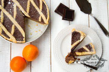 ricetta pastiera al cioccolato, peccato di gola di giovanni