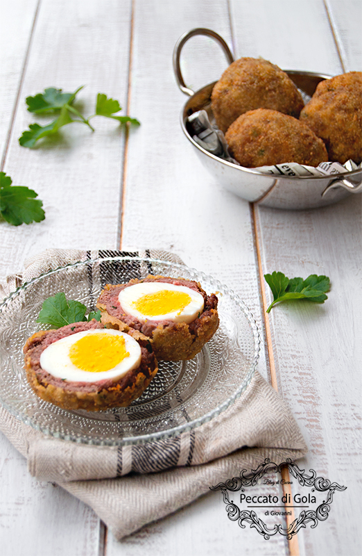 ricetta polpette con uova sode, peccato di gola di giovanni 2