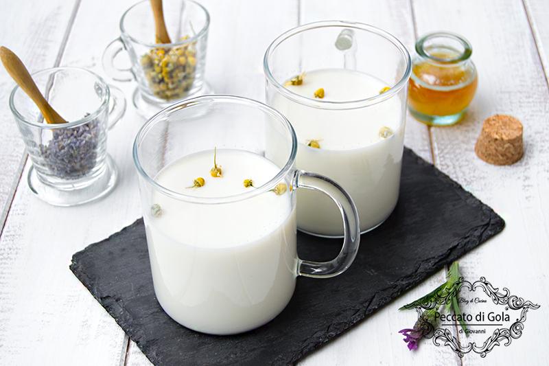 ricetta latte, camomilla e lavanda, peccato di gola di giovanni
