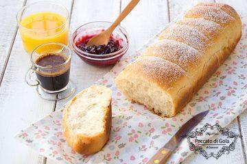 ricetta pan brioche vegan, peccato di gola di giovanni