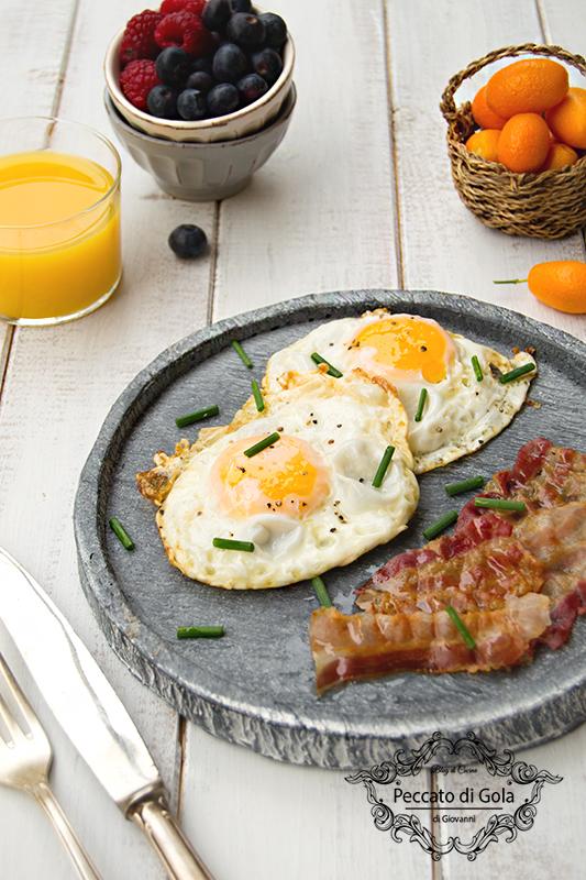 ricetta uova e bacon, peccato di gola di giovanni 2