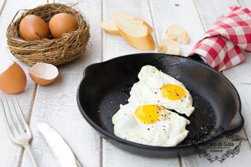 ricetta uova all'occhio di bue, peccato di gola di giovanni