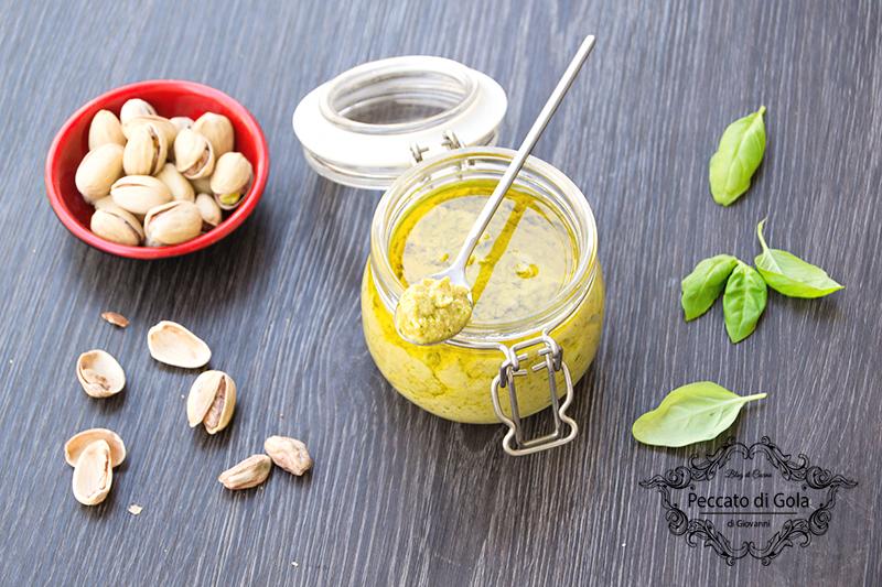 ricetta pesto di pistacchi, peccato di gola di giovanni