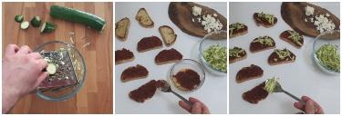 crostoni al pesto di pomodori secchi, peccato di gola di giovanni 2