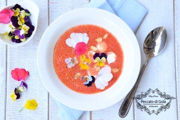 ricetta gazpacho all'anguria, peccato di gola di giovanni