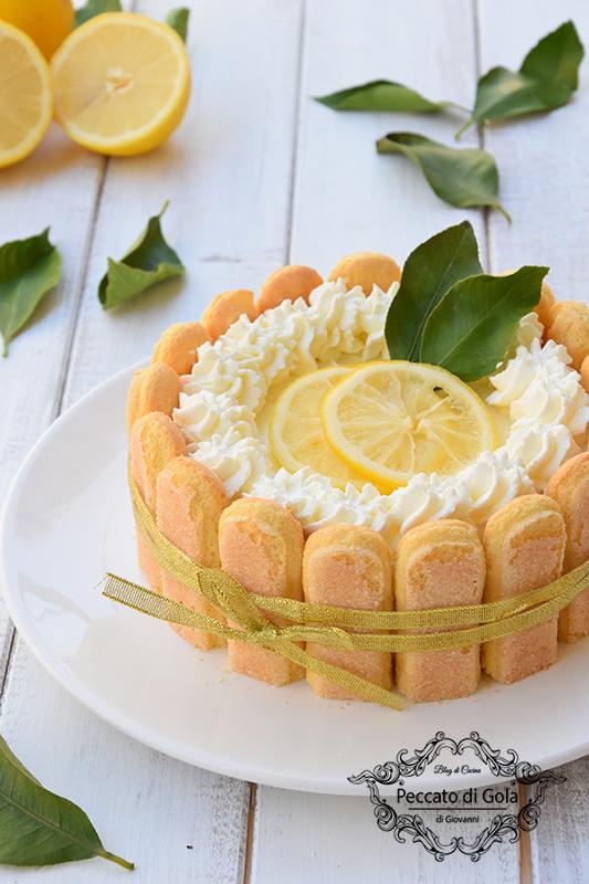 ricetta charlotte al limone, peccato di gola di giovanni 2