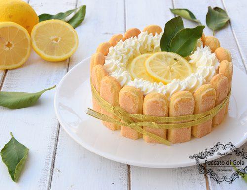 Charlotte al limone