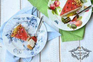 ricetta cheesecake all'anguria, peccato di gola di giovanni