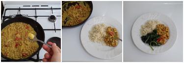 curry di ceci con riso e spinaci, peccato di gola di giovanni 6
