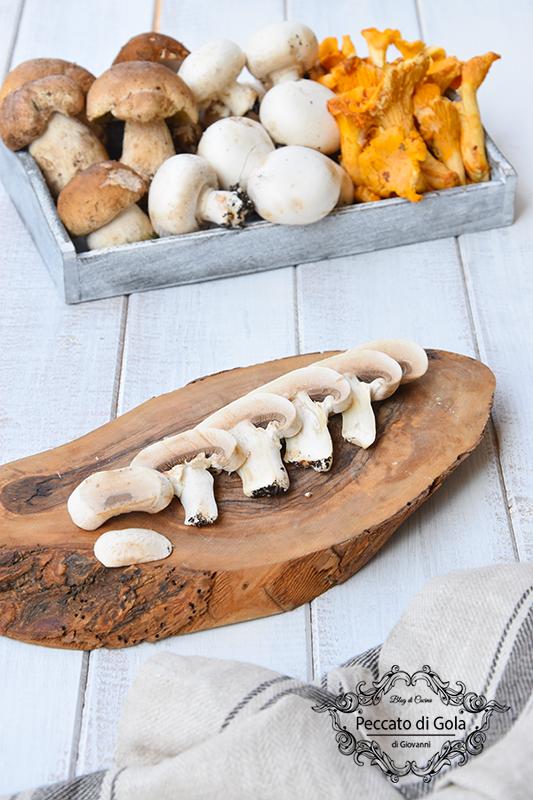 ricetta come pulire i funghi, peccato di gola di giovanni 2