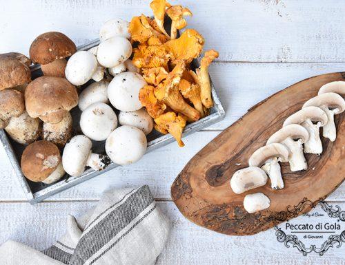 Come pulire i funghi