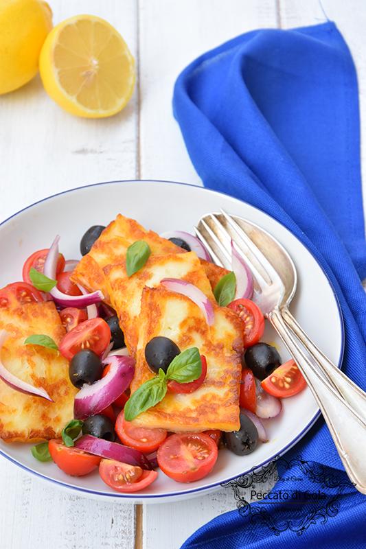 ricetta insalata con halloumi, peccato di gola di giovanni 2