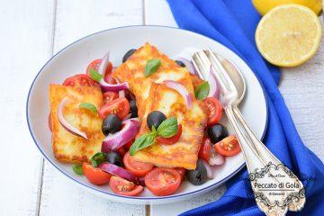 ricetta insalata con halloumi, peccato di gola di giovanni