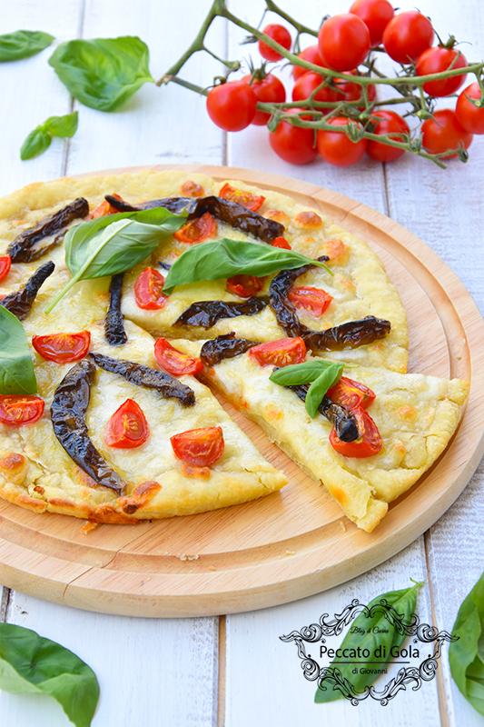 ricetta pizza con i peperoncini verdi, peccato di gola di giovanni 2