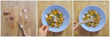 insalata di fagioli misti e zucca, peccato di gola di giovanni 4