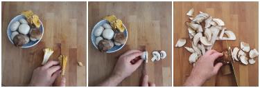 pasta al forno con funghi, peccato di gola di giovanni 2