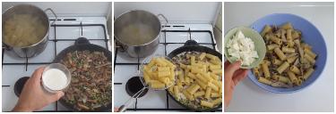 pasta al forno con funghi, peccato di gola di giovanni 5