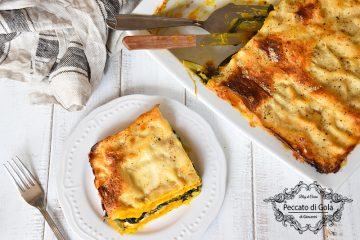 ricetta lasagne di zucca e cicoria, peccato di gola di giovanni
