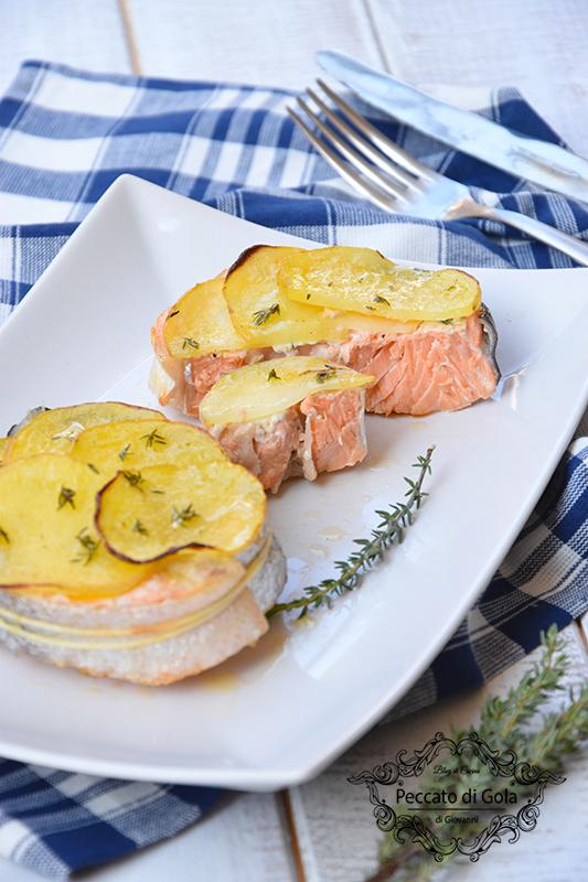 ricetta salmone al forno, peccato di gola di giovanni 2