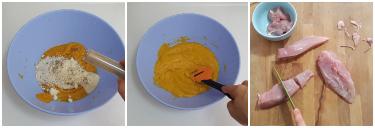 pollo gratinato alla crema di zucca, peccato di gola di giovanni 6