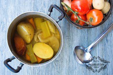 ricetta brodo vegetale, peccato di gola di giovanni