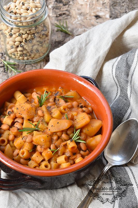 ricetta minestra di fagioli e patate, peccato di gola di giovanni 2