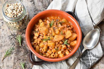 ricetta minestra di fagioli e patate, peccato di gola di giovanni