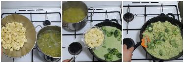 Orecchiette con crema di broccoli e melagrana, peccato di gola di giovanni 5