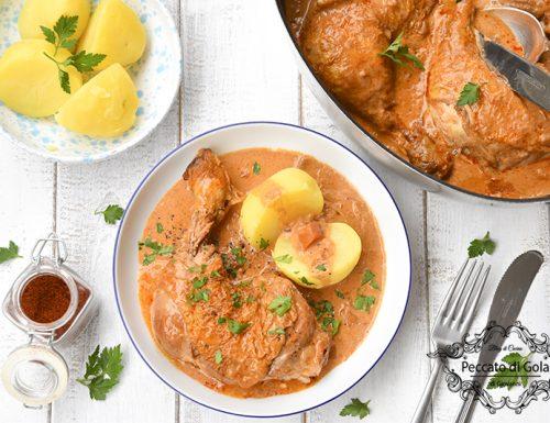 Chicken paprikash alla slovena