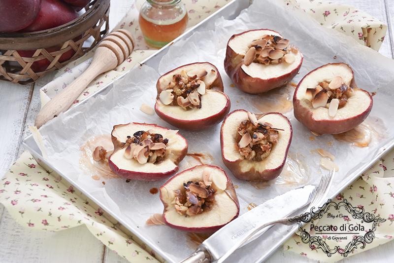 ricetta mele al forno ripiene, peccato di gola di giovanni