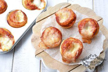 ricetta muffin pizza, peccato di gola di giovanni