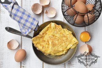 ricetta omelette, peccato di gola di giovanni