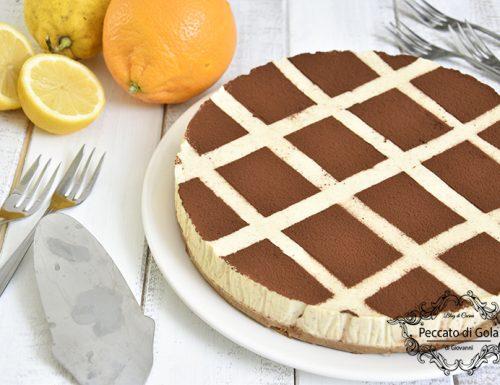 Pastiera cheesecake