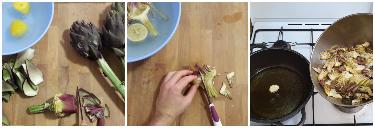 risotto ai carciofi e pomodori secchi, peccato di gola di giovanni 1