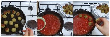 Polpette di zucchine alla pizzaiola, peccato di gola di giovanni 5