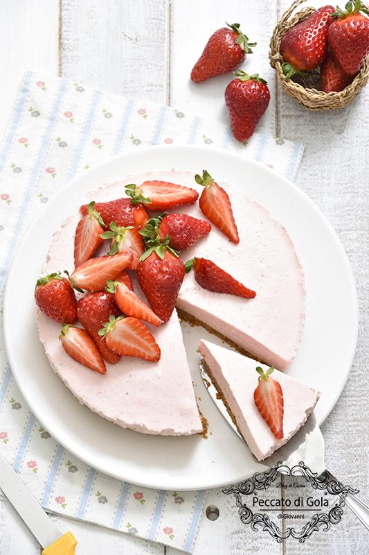 ricetta cheesecake alle fragole, peccato di gola di giovanni 2