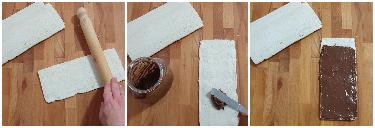 Girelle di pancarré alla Nutella (senza cottura) peccato di gola di giovanni 1