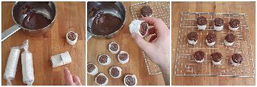 Girelle di pancarré alla Nutella (senza cottura) peccato di gola di giovanni 3