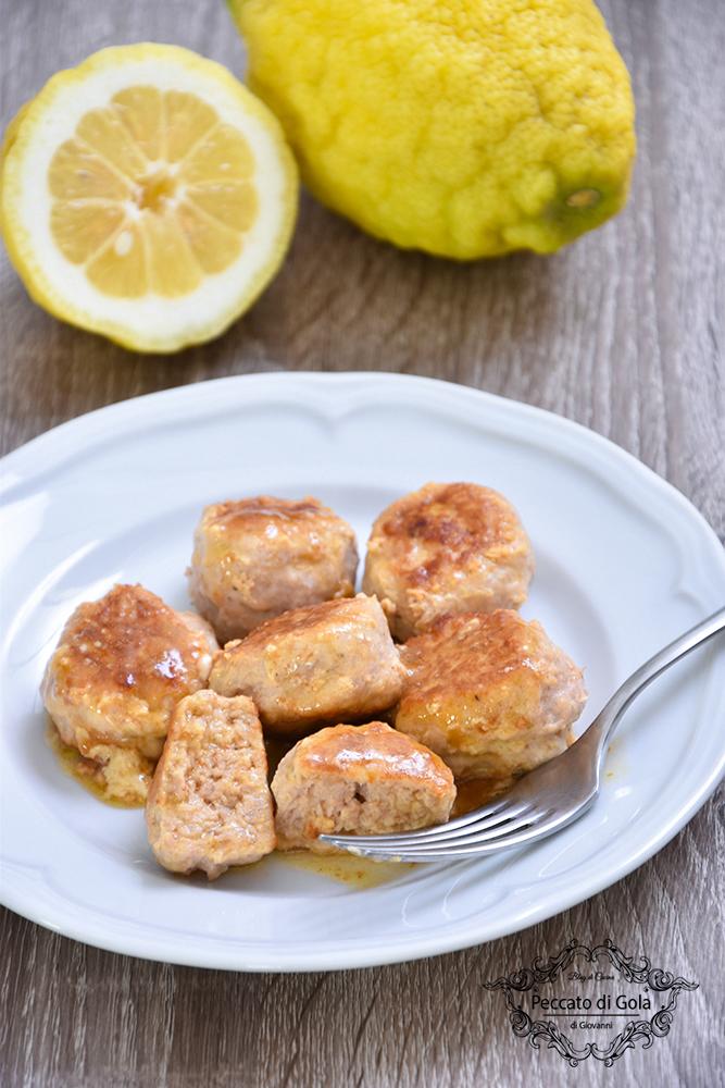 ricetta polpette di pollo al limone peccato di gola di giovanni 2