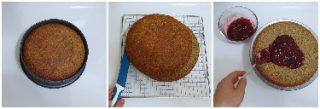 Torta di grano saraceno e confettura di mirtilli rossi peccato di gola di giovanni 6