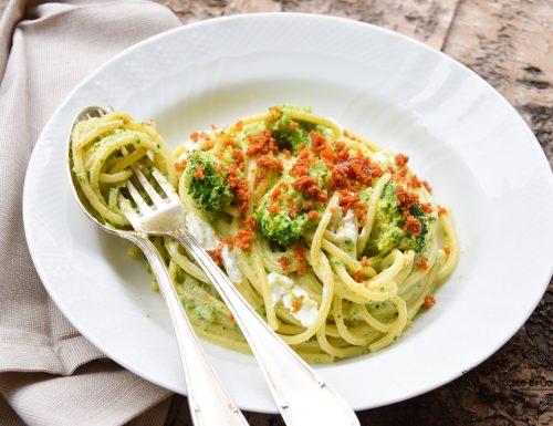 Pasta ammollicata con broccoli