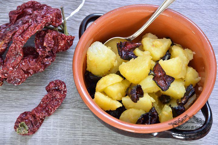 ricetta patate e peperoni cruschi peccato di gola di giovanni