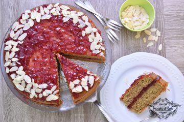 ricetta torta al grano saraceno e confettura di mirtilli rossi peccato di gola di giovanni