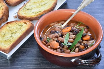 ricetta zuppa di fagioli misti peccato di gola di giovanni 1