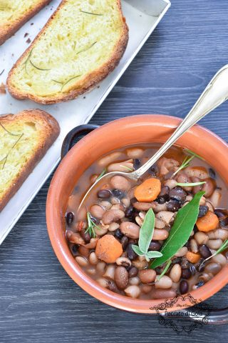 ricetta zuppa di fagioli misti peccato di gola di giovanni 2