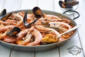 ricetta paella de marisco peccato di gola di giovanni